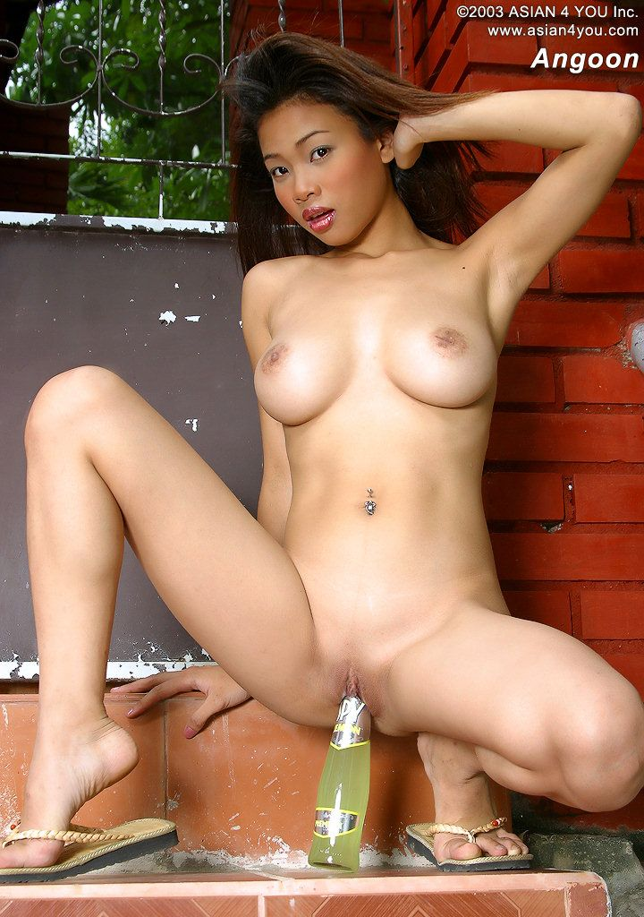 japan nude hot girls with bottle