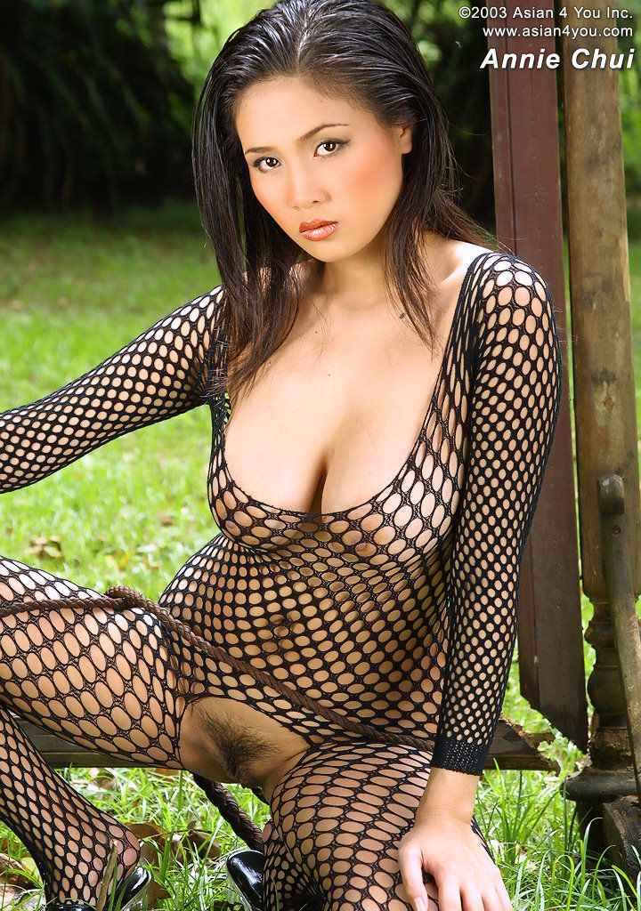 Fishnet nude asian picture remarkable, very