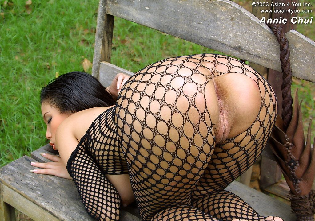 Fishnet asian girls