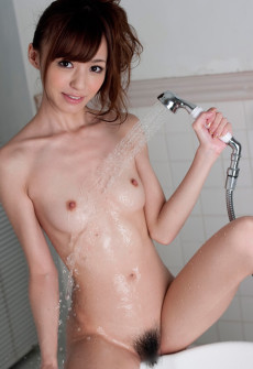 japanese girl showering