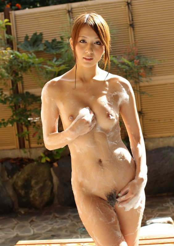 Necessary Asian babe in bath nude